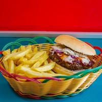 Promo para 3 - Sándwich de hamburguesa La Gorda Rica para 3