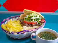 Promo para 1 - Sándwich de mechada La Gorda Rica para 1