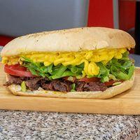 Sándwich chacarero (18 cm)