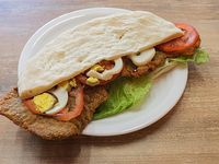 Sándwich de milanesa completa