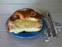 Medialunas de jamón y queso grandes