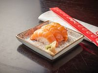 Niguiri de salmón rosado (5 unidades)