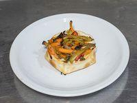 Empanada de verduras salteadas