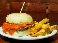 Burger cuarto de libra simple