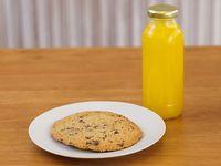 Promo 2 - Cookie + jugo de naranja