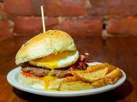 Burger simple bbq