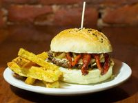 Burger simple criolla