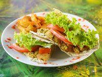 Taco falafel