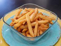 Bandeja de papas fritas