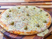 Pizza muzzarella (12 porciones)