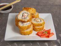 Ebi rolls tempura (8 piezas)