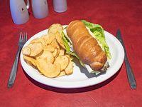 Sándwich de pechuga Caesar