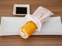 Camarón y queso roll