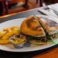Sándwich de churrasco chacarero