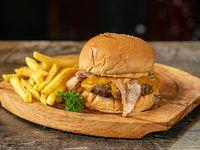Hamburguesa cheddar bacon