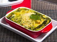 Lasagna de espinaca y champiñón