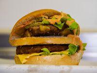 Big Taz burger