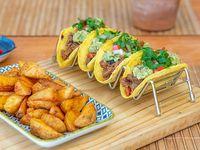 Taco carnita (4 unidades)
