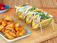Tacos al pastor (4 unidades)