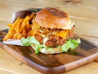 Pollo crispy burger