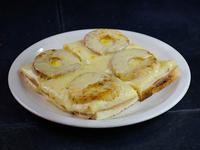 Sándwich caliente hawaiano