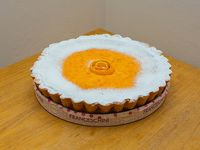 Tarta de naranja (16 porciones)