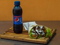 Combo 1 - Shawarma + gaseosa línea Pepsi 250 ml