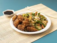 Robalo Oriental con Verduras