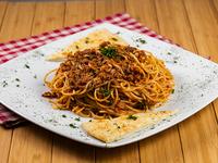 Espaguettis a la bolognesa