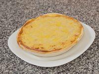 Tarta de cebolla y muzzarella
