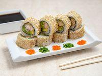 California ebi tempura (8 piezas)