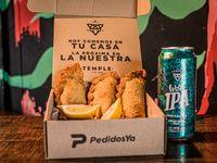 3 Empanadas + Birra