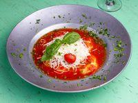 Gnocchi rellenos de jamón y muzzarella