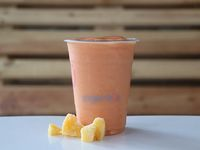 Peach berry sunset smoothie 16 oz