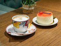 Promo - Café o cortado + porción de torta