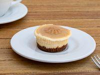 Mini cheesecake de dulce de leche sin azúcar
