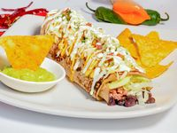 Burrito de Tinga de Cerdo