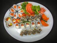 Tabla de sushi - 30 piezas premium