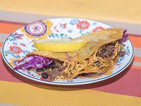Tacos crispy de res
