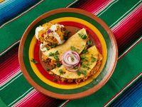 Quesadilla de Arroz a la Mexicana