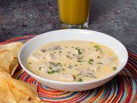 Sopa de Pollo y Champiñones