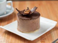 Mousse de chocolate (sin azúcar)