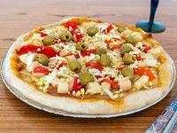 Pizza madrileña (8 porciones)