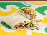 Wrap o Burrito de Jamón de Cerdo
