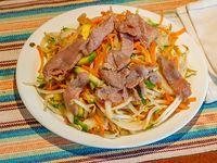 Chop suey con cerdo