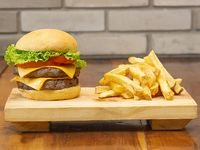 Doble Mr Cheese Burger