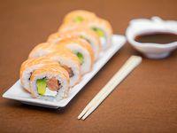 Sake Rolls (10 piezas)