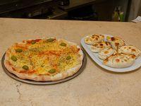 Promo 5 - Pizza de muzzarella + 12 empanadas