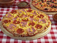 Promoción 1 - Dos pizzas medianas (28 cm)