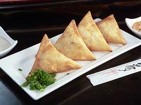 Empanadas triangulares de camarón mandarín (4 unidades)